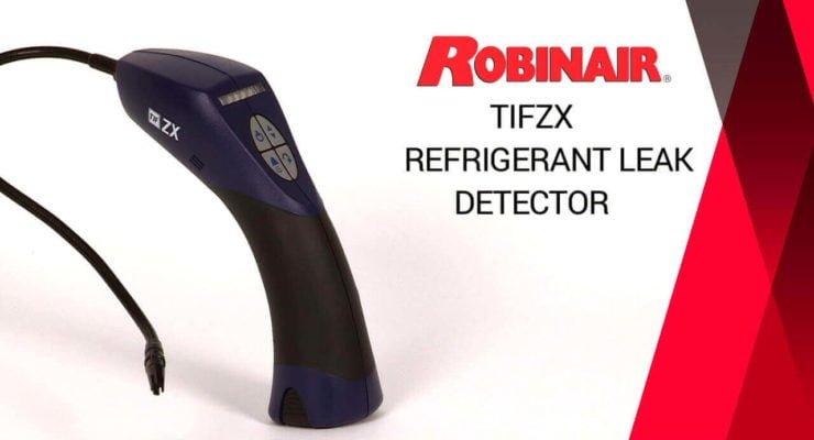 Refrigerant leak detectors